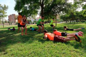 entrenar en grupo